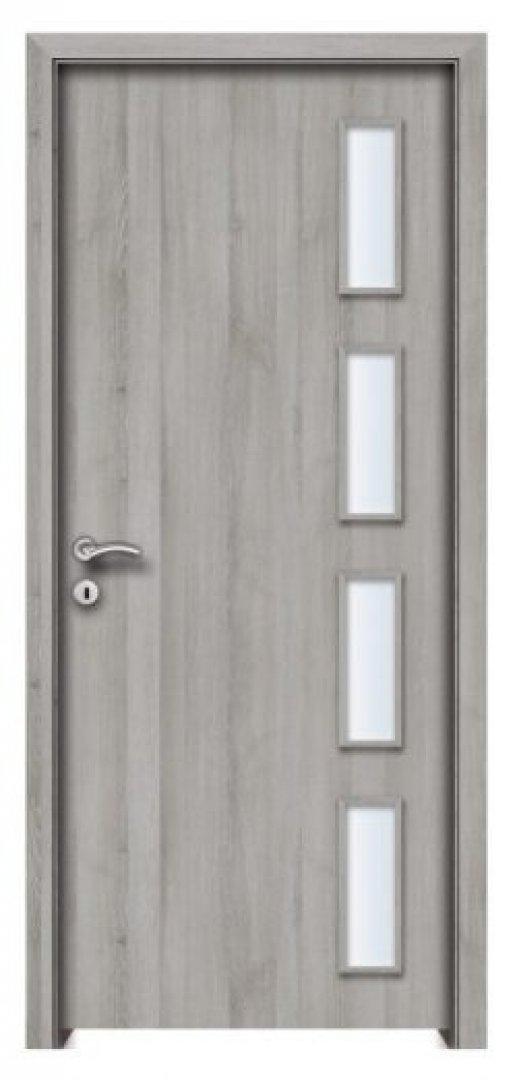 Toledo CPL üveges beltéri ajtó Silver Tölgy