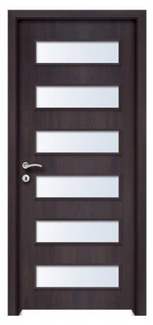 Hormuz CPL üveges beltéri ajtó csoki bükk