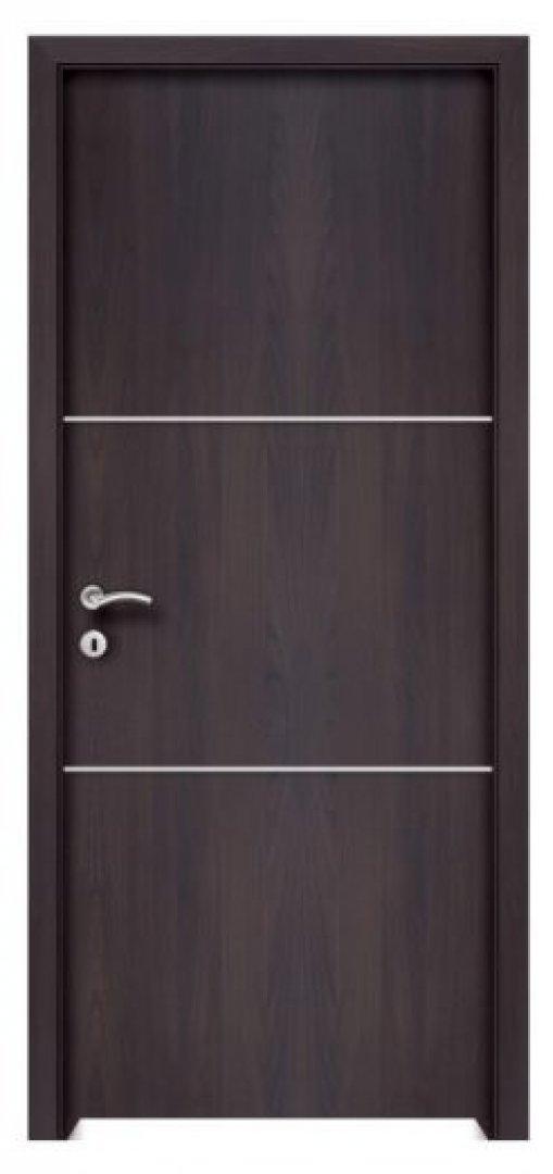 Gordion 2. CPL fémintarziás beltéri ajtó csoki bükk 250x522