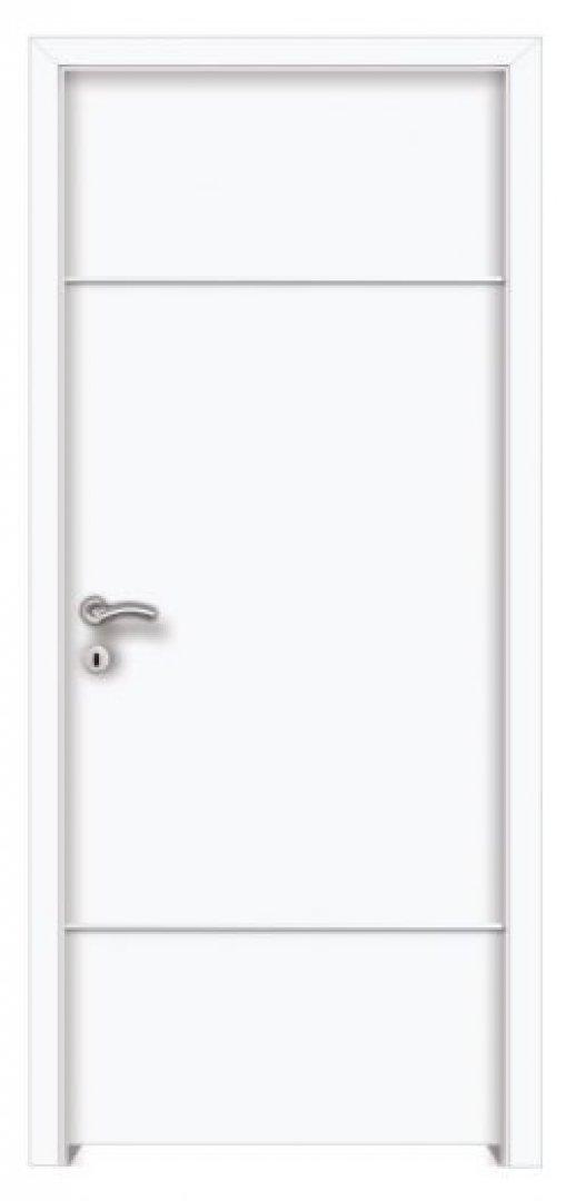 Gordion P2 CPL fémintarziás beltéri ajtó fehér 250x522