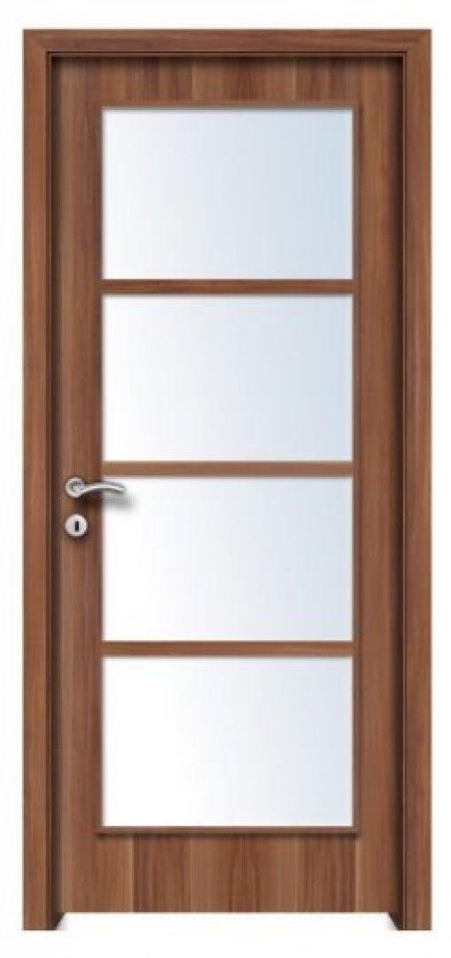 Mekka 4 CPL üveges beltéri ajtó 4 Merano