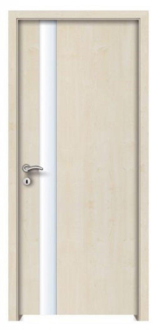 Szúsza. CPL biztonsági üveges beltéri ajtó juhar