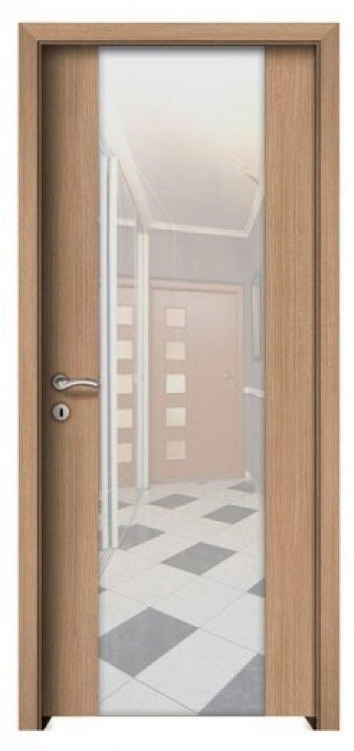 Borneo CPL biztonsági üveges beltéri ajtó aragon tölgy