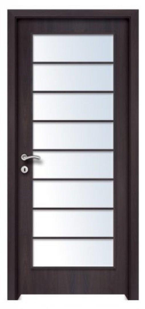 Mekka 8. CPL üveges beltéri ajtó csoki bükk