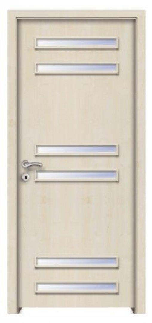Szadoma CPL üveges beltéri ajtó juhar