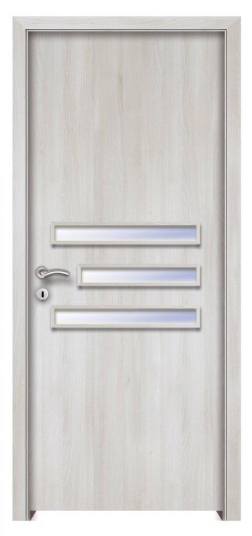 Türosz CPL beltéri ajtó fehér akác