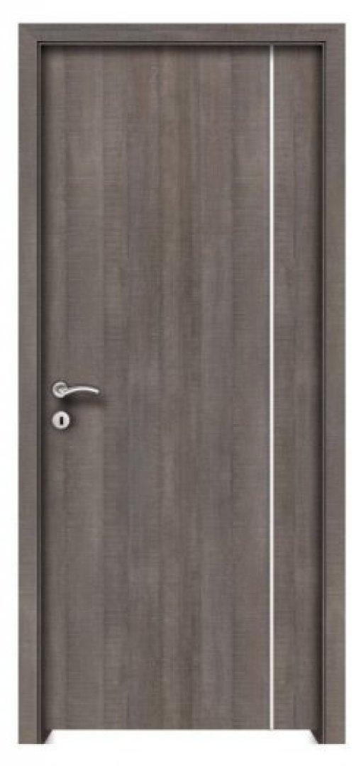 Karthago  CPL fémcsíkos beltéri ajtó platán