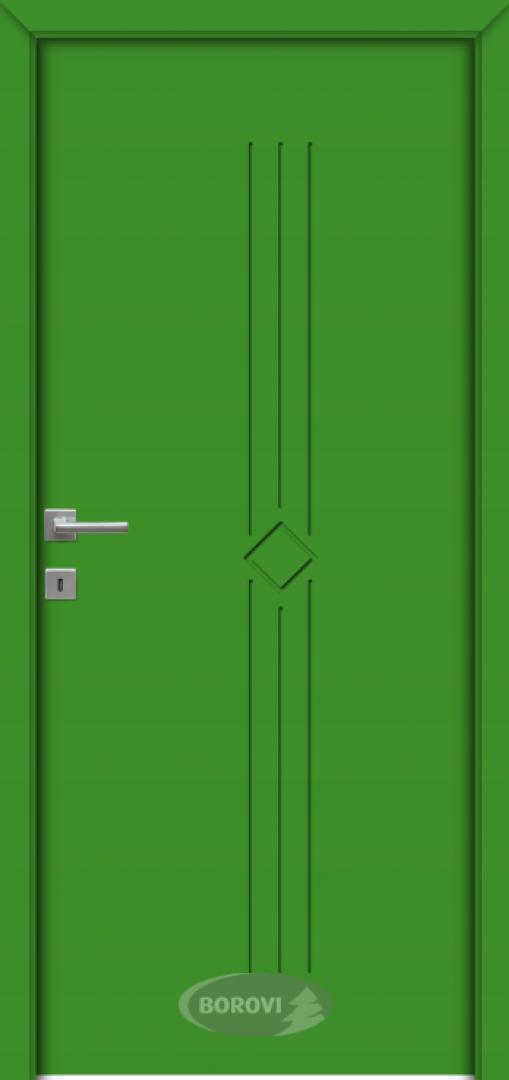 MDF festett beltéri ajtók